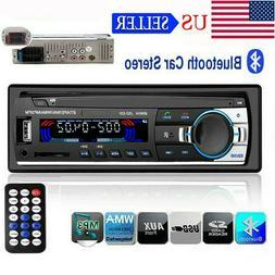 1 Din Car Radio Stereo MP3 Player USB TF AUX-IN Remote Contr