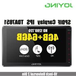 """10.1""""IPS Double Din Android 8.1 Head Unit <font><b>4GB</b></"""
