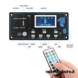 12V LCD Bluetooth MP3 Decoder Board WAV WMA Decoding MP3 Pla