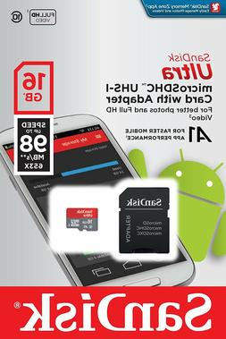 16GB-128GB microSDXC Flash Memory Card Class 10 For Camera S
