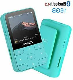 HONGYU 16GB Clip MP3 Player with Bluetooth 1.5 Inch