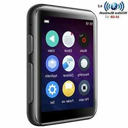 16gb mp3 player bluetooth with 2 4