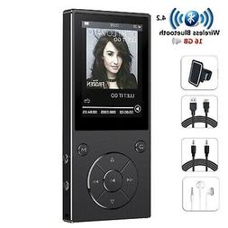 HONGYU 16GB MP3 Player with Bluetooth 2.4 Inch Color Screen,
