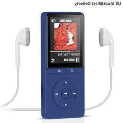 AGPtEK 16GB MP3 Player HIFI Music Player FM Radio Support 70