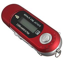 2/4/8GB USB 2.0 Flash Drive LCD Mini MP3 Music Player w/ FM