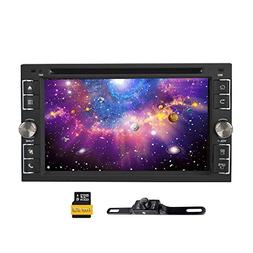 2 Double Din Universal in Dash DVD GPS Car Stereo - Ehotchpo
