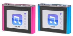 2 X Eclipse Fit Clip Plus 8GB MP3 Digital Music Video Player