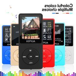 Agptek Playback MP3 Music Player Lossless Sound FM Radio TF
