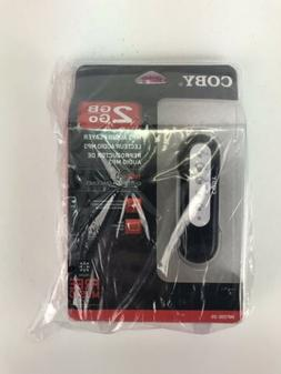 2GB coby Go mp3 audio player MP200 Sealed Package Plug And P