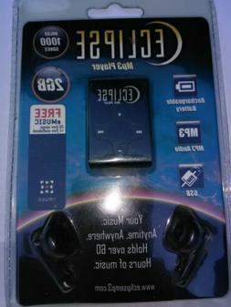 Eclipse 2GB MP3 Music Player-Black-New in sealed packaging