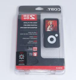 Coby 2GB MP3 Video Player MP600 Black - New / Sealed