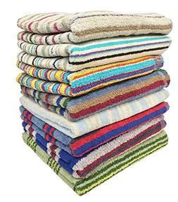 """3-pack 28"""" X 57"""" 100% Cotton Bath Towels"""