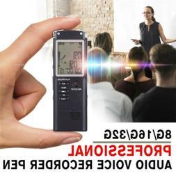 32G Voice Activated Mini Spy Digital Sound Audio Recorder Di