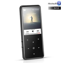 AGPTEK 32GB Bluetooth MP3 HIFI Music Player FM Radio with 2.