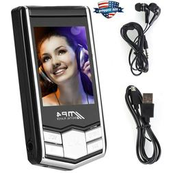 32GB Media MP3 MP4 Player Music Players Radio Video FM Voice