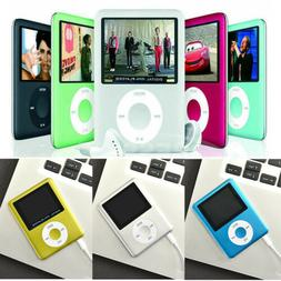 "32GB MP3 MP4 4th Generation Music Media Player 1.8"" LCD SCRE"