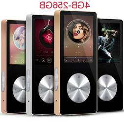 4-256GB 4.1 Bluetooth HiFi MP3 MP4 Player Recorder pen Media