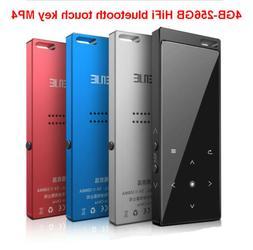 4-256GB Bluetooth Hifi MP3 MP4 Player Walkman FM Radio Recor