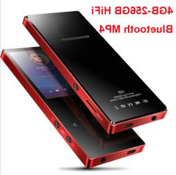 4-256GB Bluetooth MP3 MP4 Lossess Touch keys Music Player TF