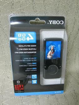 Coby 4 GB Go Video MP3 Player MP707-4G w/ FM Radio Color LCD