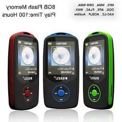 64G Support RUIZU X06 Bluetooth Sport MP3 Player TF Card Mus