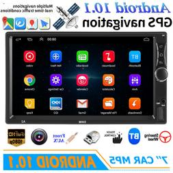 """7"""" Double 2 DIN Android 10.1 Car MP5 MP3 Player Touch Stereo"""