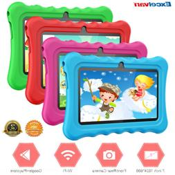 "7"" Quad Core HD Tablet 8GB for Kids Android 8.1 WiFi Dual"