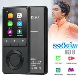 70 Hours BT MP3 MP4 Lossless Sound Music Player FM Voice Rec