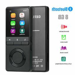 70 Hours Playback MP3 MP4 Lossless Sound Music Player FM Rec