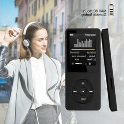 70 Hours Playback MP3 MP4 Player LCD 1.8 inch Screen FM Radi