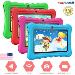 "7""Quad Core HD Tablet Educational for Kids Android 8.1 WiF"