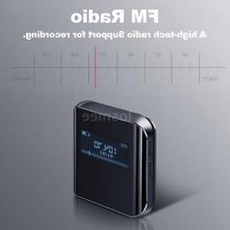 BENJIE 8G Mini Sport MP3 Player HiFi Lossless Music FM Radio