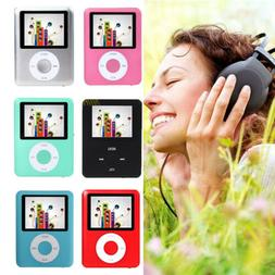 "8GB-32GB Digital MP3 MP4 Player 1.8"" LCD Screen Video Game M"