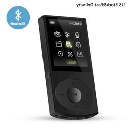 AGPTEK 8GB Bluetooth MP3 Player C3 Support Shuffle FM Expand
