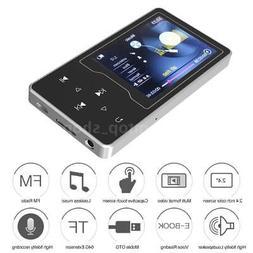 "8GB Digital MP3 MP4 Player 2.4"" Screen TF FM Radio Video Mov"