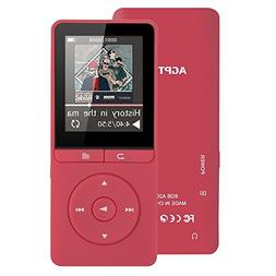 8GB MP3 Player with FM Radio/ Voice Recorder, 80 Hours Playb