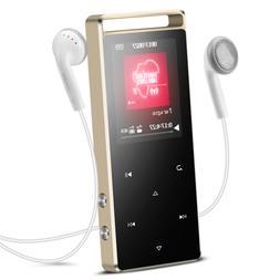 AGPTEK MP3 Player 8GB FM Radio Sport HIFI Player Support up