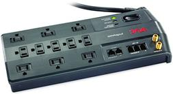 APC 11-Outlet Surge Protector 3020 Joules with Telephone, DS