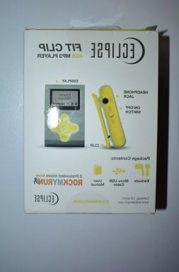 "ECLIPSE Eclipse Fit Clip SL/YW 4GB 1"" MP3 Player"