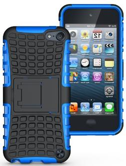 Nakedcellphone BLUE GRENADE RUGGED TPU SKIN HARD CASE COVER