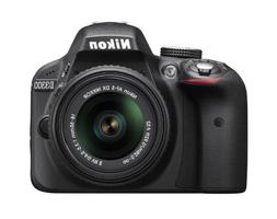 Nikon D3300 24.2 MP CMOS Digital SLR with Auto Focus-S DX NI