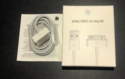 Original OEM Geniune Apple iPhone 4 4S 3GS 3G 30 Pin USB Syn