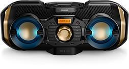 Philips CD Soundmachine Home Audio Bluetooth Usb Wireless Me