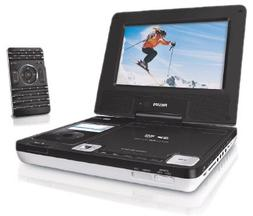 Philips DCP750/37 7-Inch Portable DVD Player with iPod docki