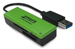 Plugable SuperSpeed USB 3.0 Flash Memory Card Reader for Win