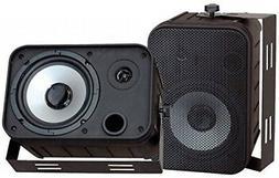 Pyle Home PDWR50B 6.5Inch Indoor/Outdoor Waterproof Speakers