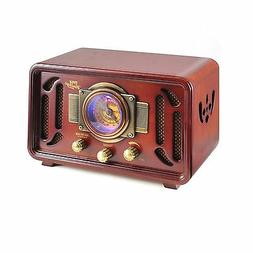 Pyle PUNP34BT Vintage Retro Classic Style Bluetooth Radio So
