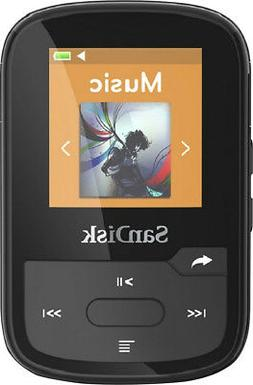 SanDisk - Clip Sport Plus 16GB* Bluetooth MP3 Player - Black