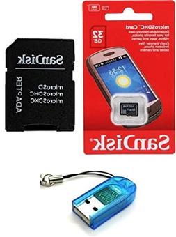 Sandisk 32GB Class 4 MicroSDHC MicroSD C4 TF Flash Memory Ca