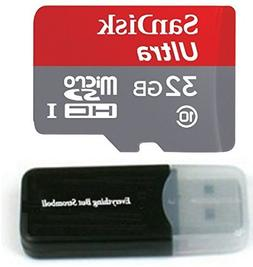 Sandisk Ultra 32GB micro SD HC Memory Card Class 10 works wi